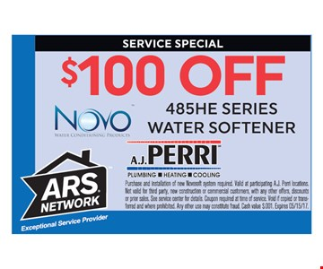 $100 Off 48HE Series Water Heater