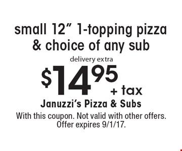 $14.95 + tax small 12