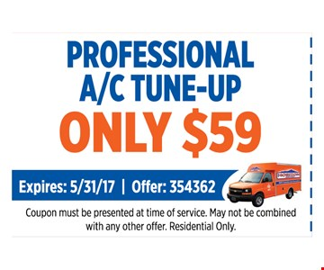 Professional A/C tune-Up