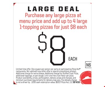 Large deal $8