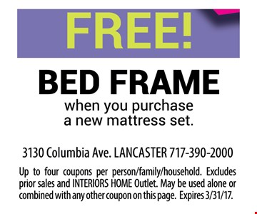 Free Bed Frame