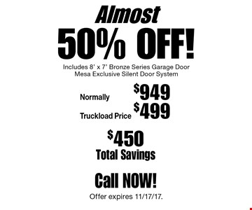mesa garage doorsLocalFlavorcom  MESA GARAGE DOORS Coupons