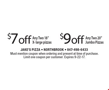 $7 off Any Two 18