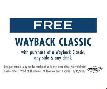 Free wayback classic