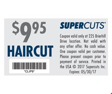 $9.95 Haircuts