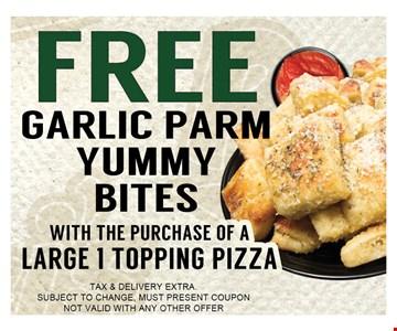 Free garlic part  yummy bites