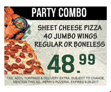 Party Combo for $48.99