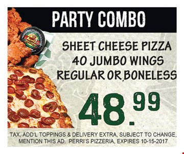 Party Combo $48.99
