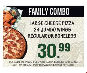 Family Combo $30.99