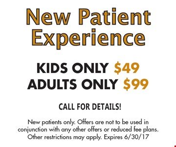 New Patient Experience