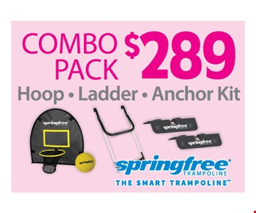 $289 combo pack
