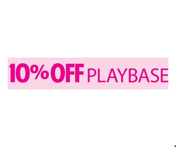 10% Off Playbase