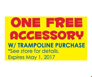 One Free Accessory