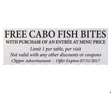 Free Cabo Fish Bites
