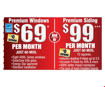 Premium windows and bidding as low as $69 per month