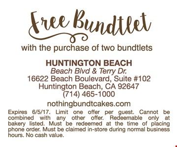 Free Bundtlet
