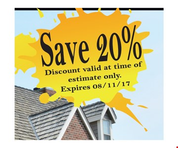 Save 20%.