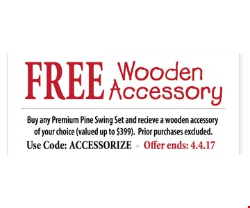 Free Wooden Accessory