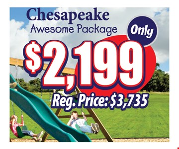 $2199 Chesapeake awesome package