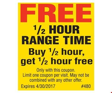 free half hour range time