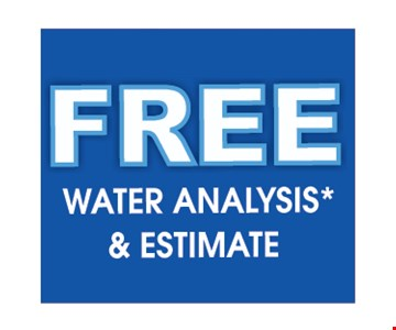 Free water analysis and estimate.