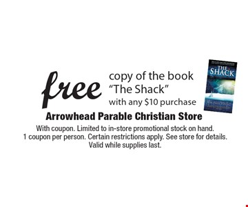 Free copy of the book
