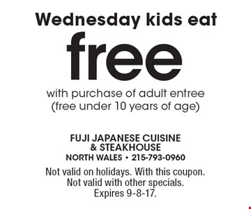 Free sushi appetizer with the purchase of Hibachi combo order. Not valid on holidays. With this coupon. Not valid with other offers or on holidays.Expires 4-7-17.