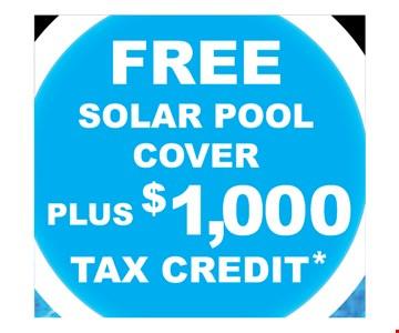Free solar pool cover