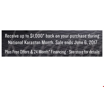 Receive Up Tp $1000 Back On Your Purchase