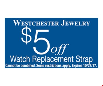 $5 OFF watch replacement strap