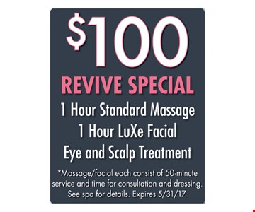 $100 Revive Special