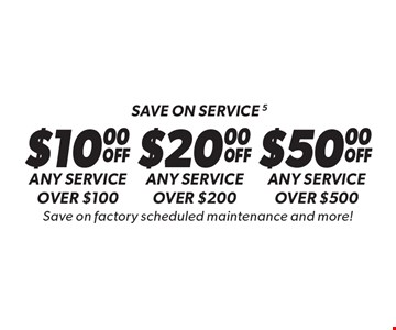Save on service 6 Any service over $100. Any service over $200. Any service over $500. . Save on factory scheduled maintenance and more!. Discount applies to regular retail pricing. Not valid on the sale of tires and batteries. Coupon must be presented at time of estimate. Valid on most cars and light trucks at participating Meineke US locations only. Not valid with any other offers, special order parts or warranty work. See center manager for complete details. No cash value. Void where prohibited. Limited time offer. Offer ends 10/13/17.