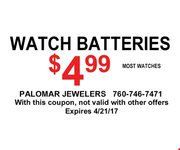 watch batteries for $4.99