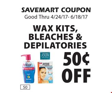 50¢ off wax kits, bleaches & depilatories . SAVEMART COUPON. Good Thru 4/24/17- 6/18/17