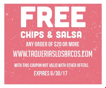 Free Chips & Salsa