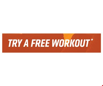 Try A Free Workout.