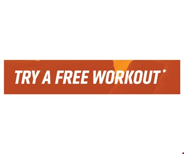 Try A Free Workout