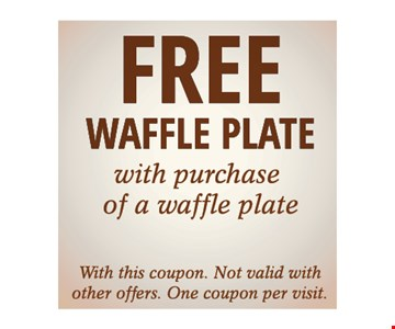 Free Waffle Plate