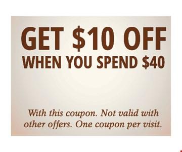 Get $10 Off