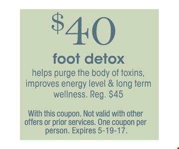 $40 Foot Detox