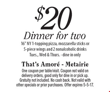 $20 Dinner for Two - 16