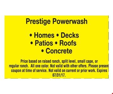 Prestige Powerwash