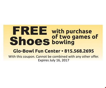 Free shoes with purchase.