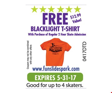 FREE BLACKLIGHT T-SHIRT