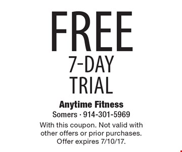 Free 7-Day Trial. With this coupon. Not valid with other offers or prior purchases. Offer expires 7/10/17.