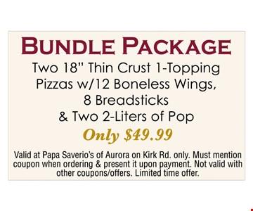 bundle package