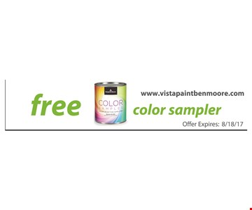 Free Color Sample