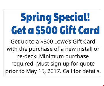 Get a Free $500 Gift Card