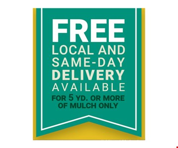 Free Local And Same Day Delivery