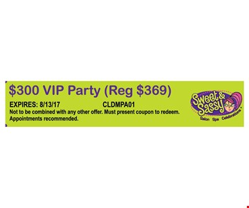 $300 VIP Party